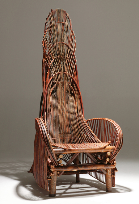 High Quality These Willow Chairs Are Fitted With Joints Made At Points Of Tangency As  One Willow Piece Passes Another.